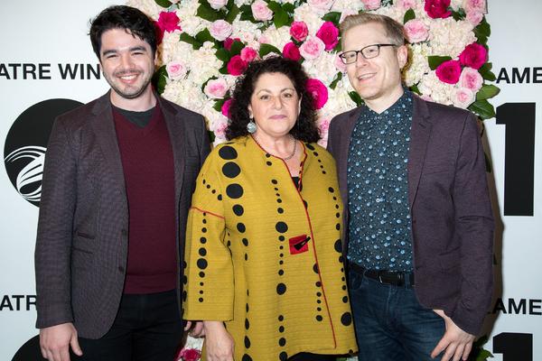 Matt McCollum, Julie Larson, Anthony Rapp Photo