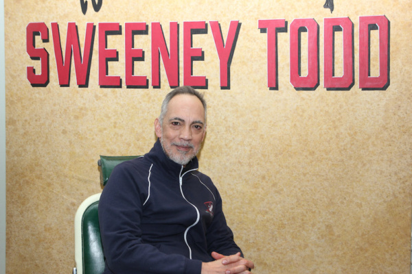 Photo Flash: In The Chair With SWEENEY TODD's Thom Sesma, Sally Ann Triplett and More
