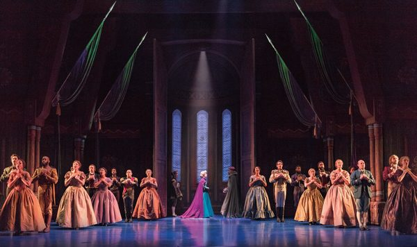 Photo Flash: Anna and Elsa and Olaf and More! First Look at FROZEN on Broadway