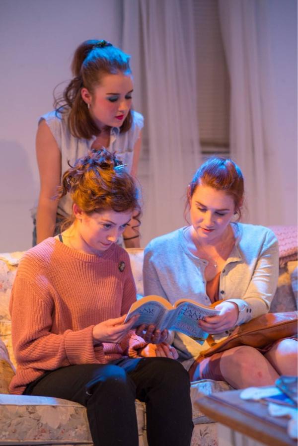 Sherry (Paige Felger), Kess (Erica Knight) and Jo (Teryn Gray)