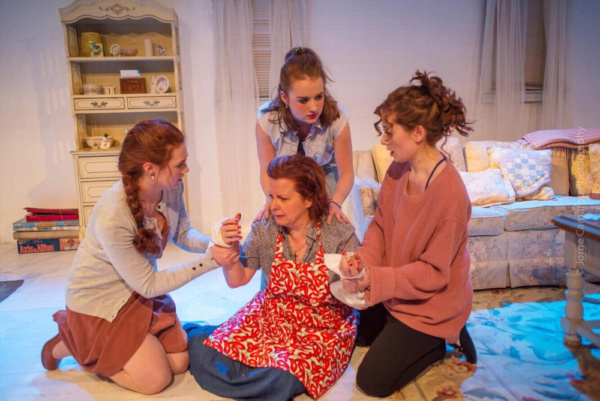 Jo (Teryn Gray), Sherry (Paige Felger), Evelyn (Susan Ferrara) and Kess (Erica Knight)