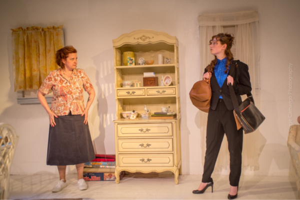 Evelyn (Susan Ferrara) and Kess (Erica Knight)