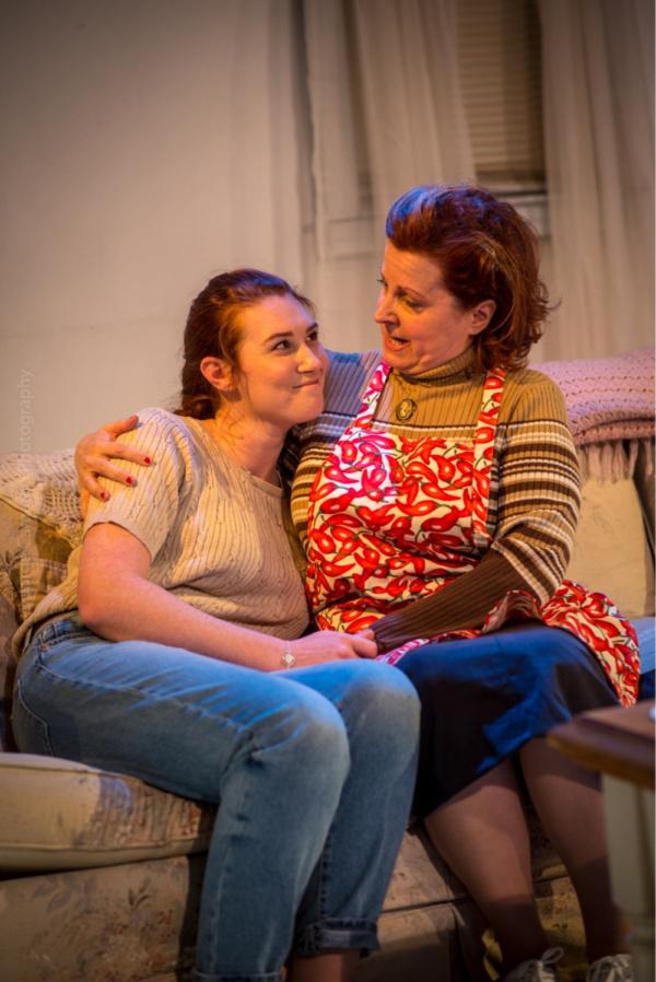 Jo (Teryn Gray) and Evelyn (Susan Ferrara)
