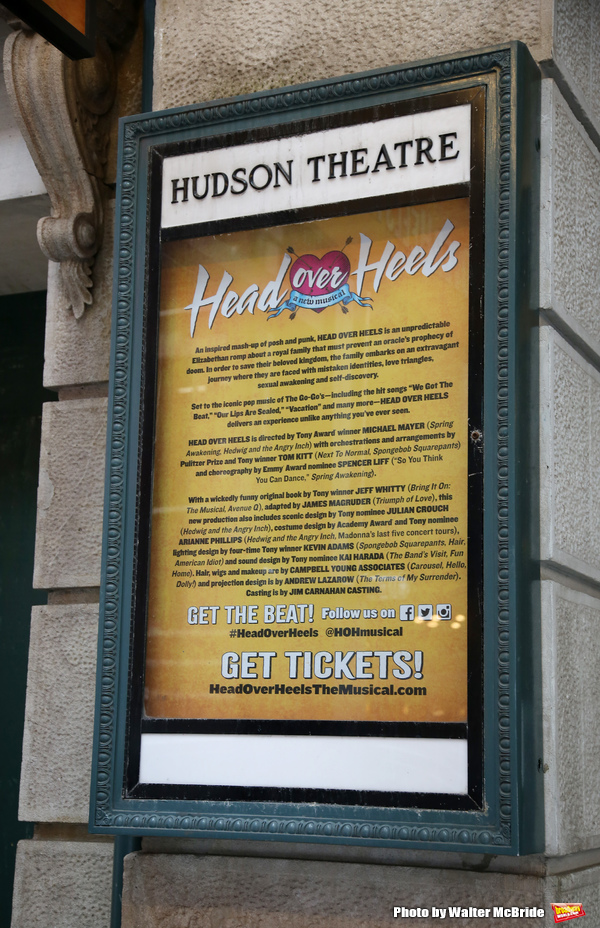 Up on the Marquee: HEAD OVER HEELS