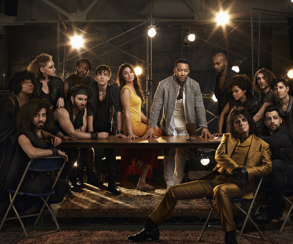 Sara Bareilles, John Legend, Alice Cooper, Brandon Victor Dixon, Jason Tam and the Ensemble of JESUS CHRIST SUPERSTAR