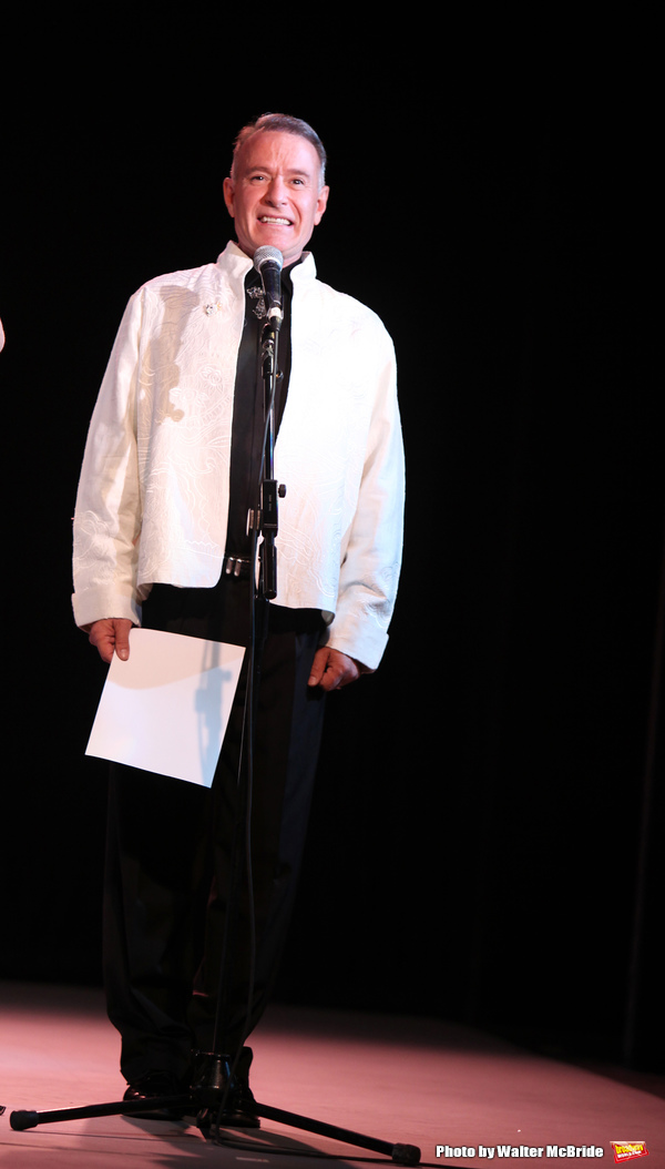 """Sammy Williams performing in the All Star Benefit """"Six Degrees of Marvin Hamlisch� benefitting The Actors Fund and honoring Broadway Musical Director Fran Liebergall at Symphony Space in New York City.  October 4, 2010"""