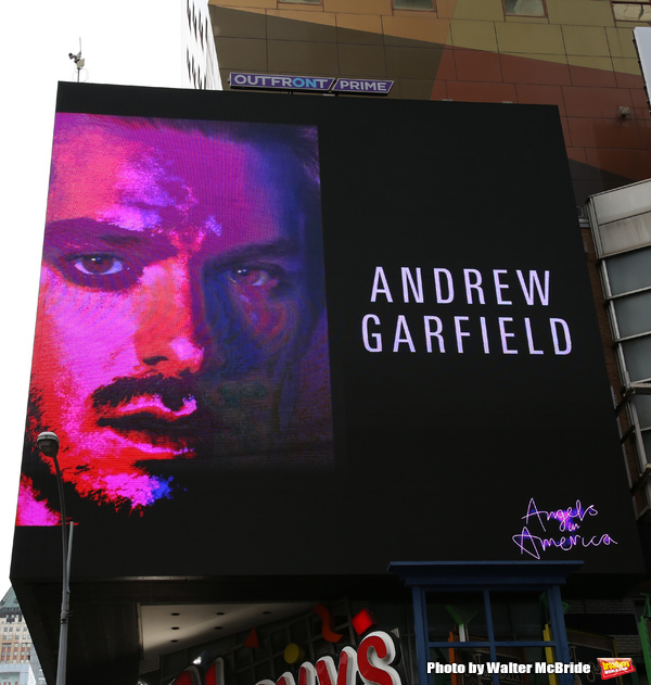 Photo Coverage: ANGELS IN AMERICA Announces NYC Return with Times Square Billboards