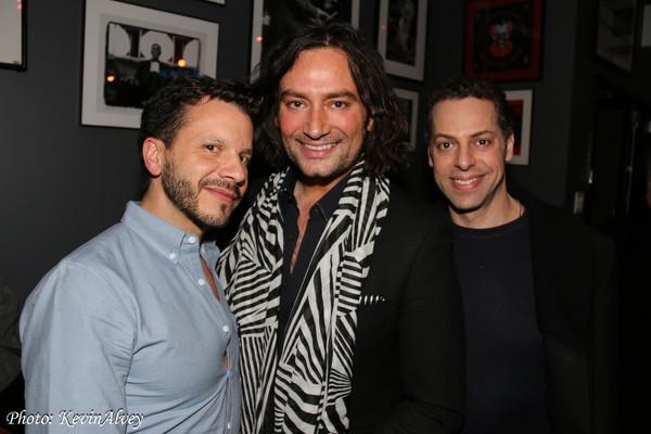 Nick Kenkel, Constantine Maroulis, Aaron Hamilton Photo
