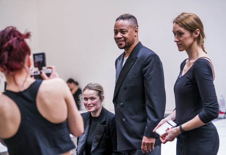 High Res Sarah Soetaert, Cuba Gooding Jr. & Michelle Antrobus
