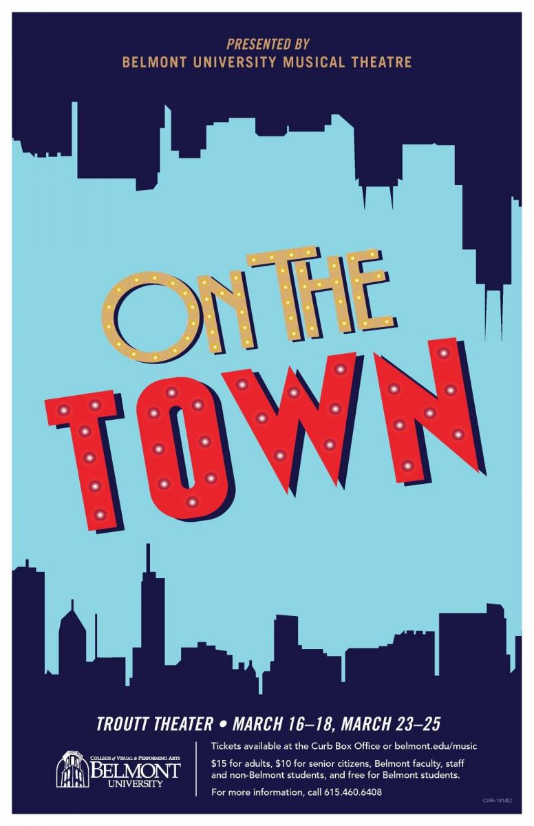 BWW Review: Starmaking Performances Lead Belmont University's Exhilarating ON THE TOWN
