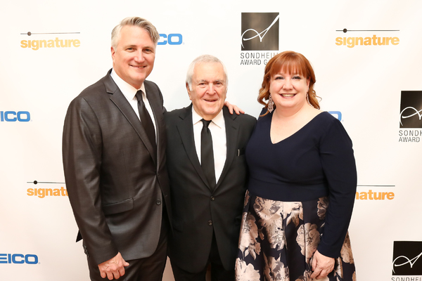 Eric Schaeffer, John Kander and Maggie Boland Photo