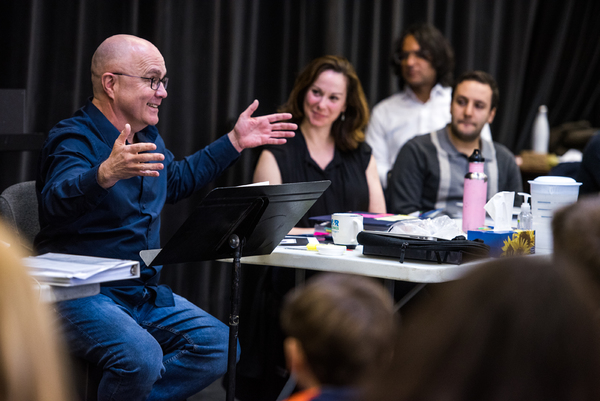 Photos: Take a Look at the First Rehearsal for the Musical Stage Company's FUN HOME at Mirvish!