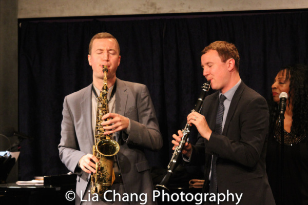 Will Anderson and Peter Anderson received the 2018 Outstanding Instrumentalists Award.