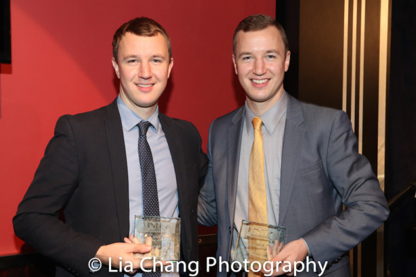 Peter Anderson and Will Anderson received the 2018 Outstanding Instrumentalists Award Photo