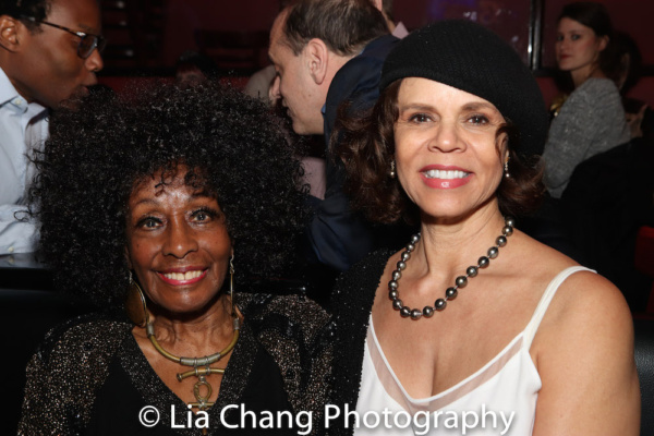 Vinie Burrows and Deborah M Pratt Photo