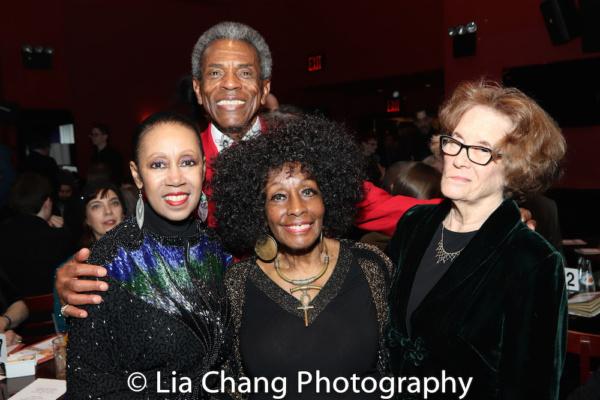Yvonne Curry, Vinie Burrows, Andre De Shields and Joan Jeffri Photo