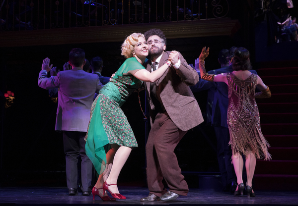 Photo Flash: Welcome to the GRAND HOTEL! First Look at Encores! Full Cast in Action