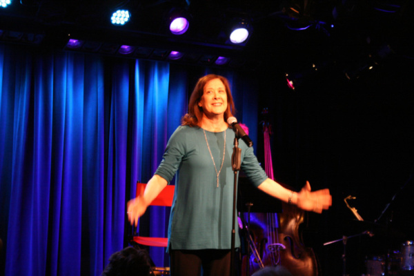 The afternoon came to a joyous conclusion with Broadway luminary, Karen Ziemba