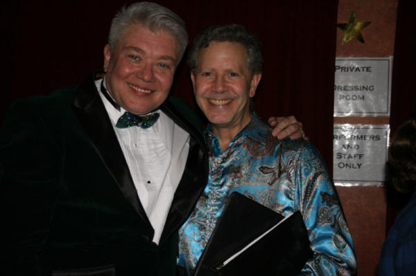 The master at the piano for the event was Fred Barton (here with Richard Skipper)