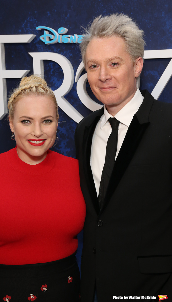 Meghan McCain and Clay Aiken