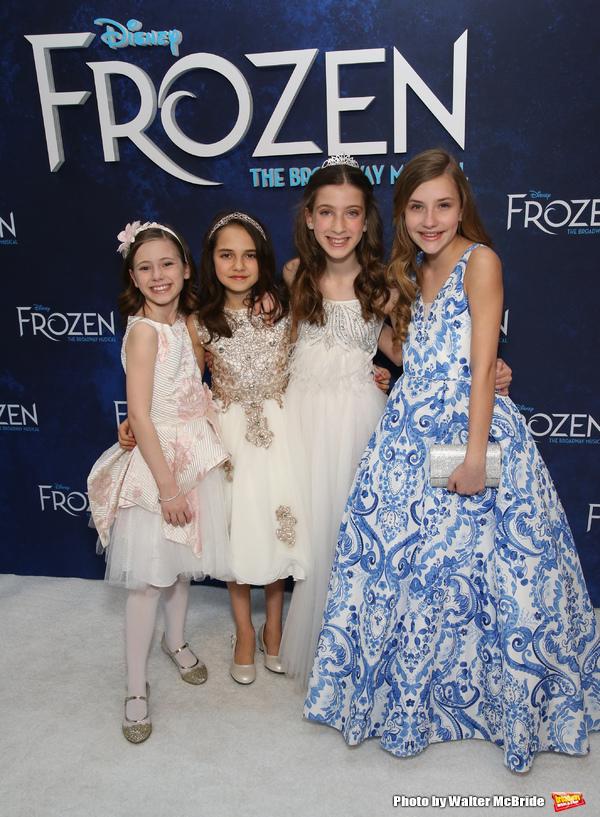 Audrey Bennett, Mattea Conforti, Ayla Schwartz and Brooklyn Nelson