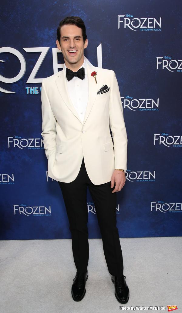 Photo Coverage: Broadway Freezes Over as FROZEN Celebrates Opening Night!