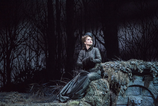 "Olga Peretyatko-Mariotti in the title role of Donizetti's ""Lucia di Lammermoor."" Photo: Richard Termine / Met Opera"