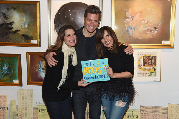 Photo Flash: Sutton Foster and More Celebrate at YOUNGER Star Peter Hermann's Book Launch