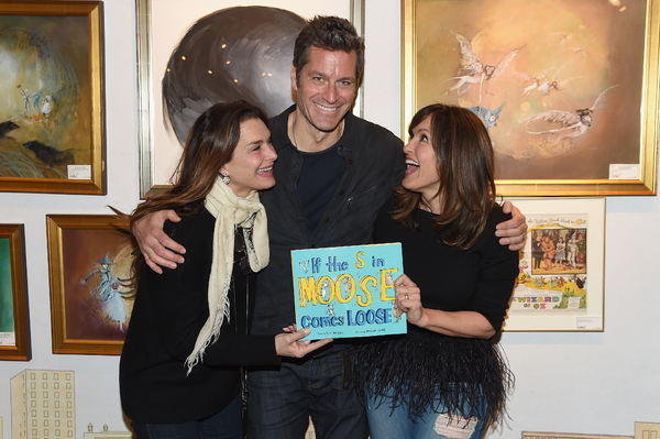 Brooke Shields, Peter Hermann and Mariska Hargitay