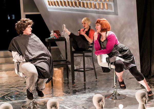 Jennifer Adams, Madelyn Loehr and Kirstin Franklin