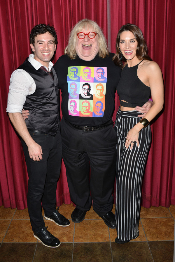 Kelli Barrett, Jarrod Spector, Bruce Vilanch Photo