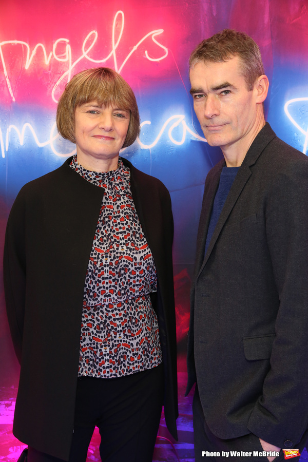 Photo Coverage: On the Red Carpet at Opening Night of ANGELS IN AMERICA