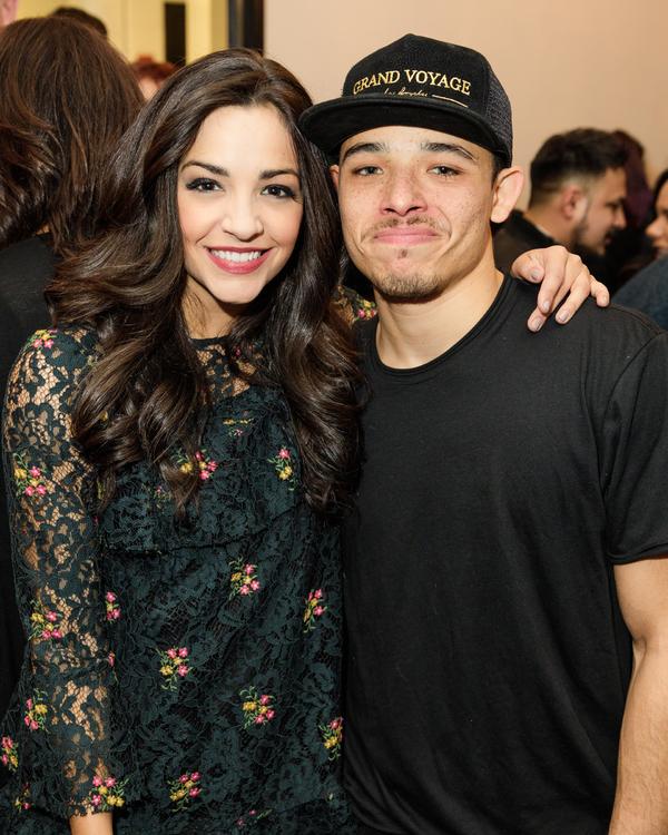 Ana Villafane and Anthony Ramos