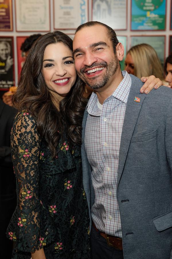 Ana Villafane and Javier Munoz