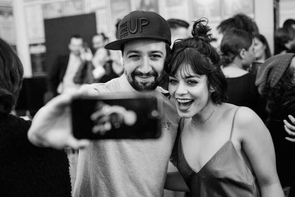 Lin-Manuel Miranda and Vanessa Hudgens