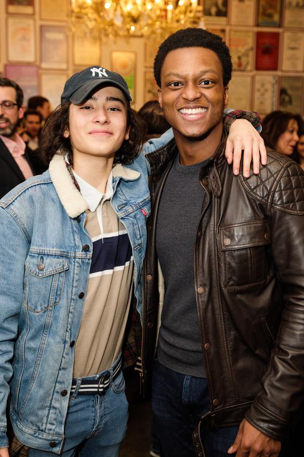 Mateo Ferro and Quinton Johnson