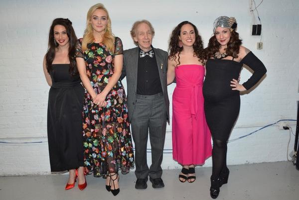 Lesli Margherita, Betsy Wolfe, Scott Siegel, Mia Gerachis and Jenny Lee Stern Photo