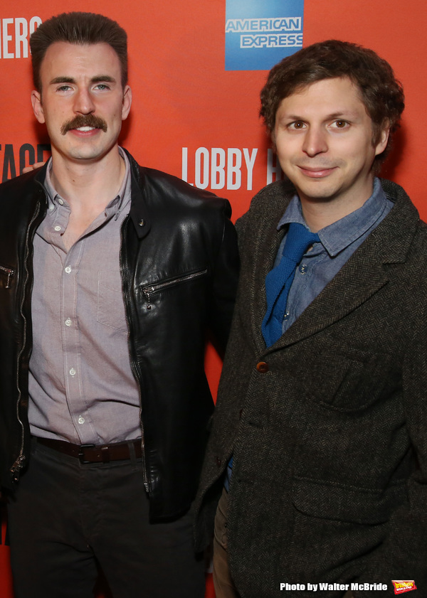Chris Evans and Michael Cera
