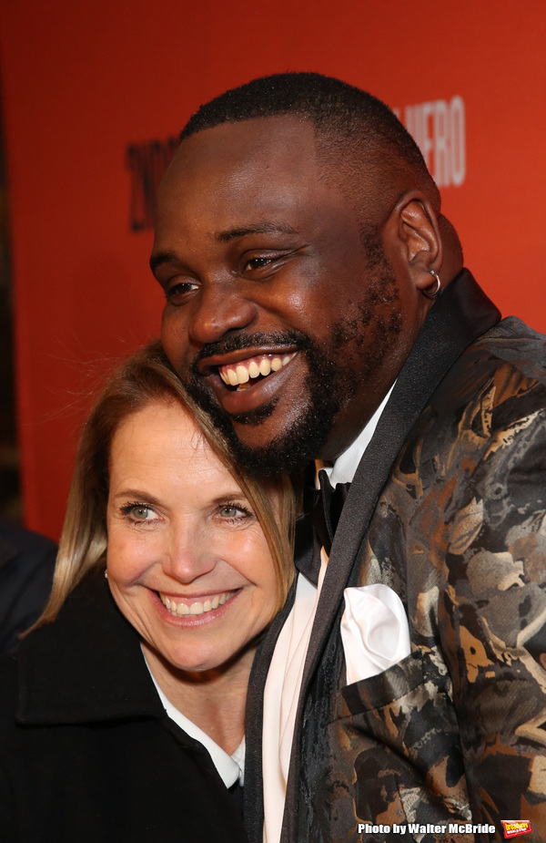 Katie Couric and Brian Tyree Henry