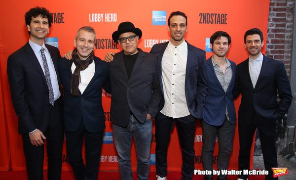 John Cariani, David Cromer, David Yazbek, Ari'el Stachel, Etai Benson and Adam Kantor