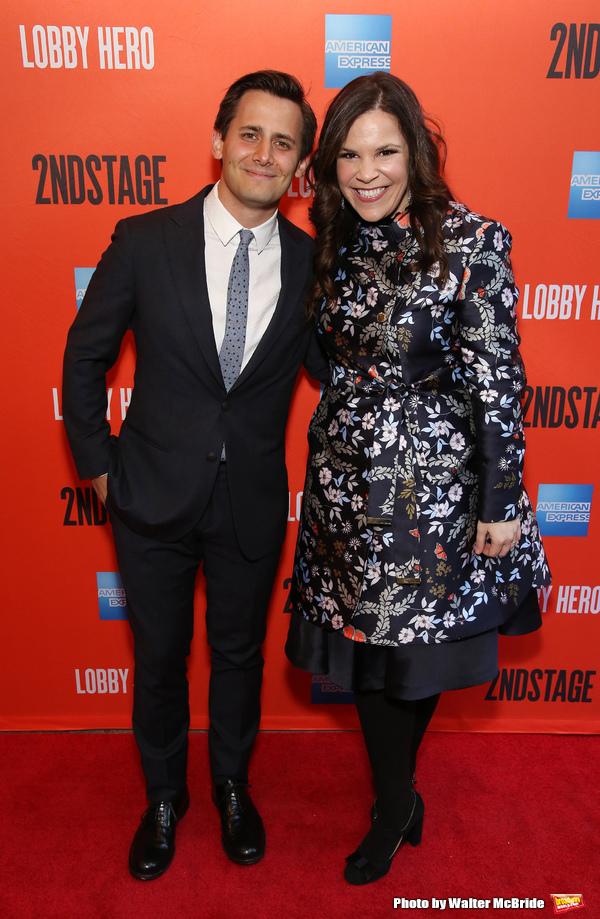 Benj Pasek and Lindsay Mendez
