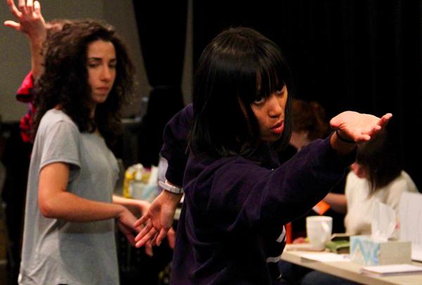 Karla Puno Garcia and Layan Elwazani Photo