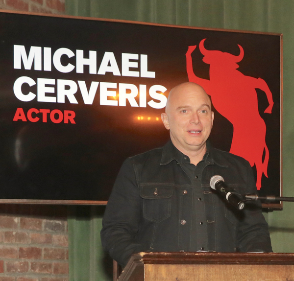 Michael Cerveris at the Tenth Annual RUNNING OF THE RED BULLS Benefit