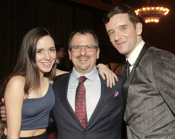 Talene Monahon, Jesse Berger, and Michael Urie at the Tenth Annual RUNNING OF THE RED Photo