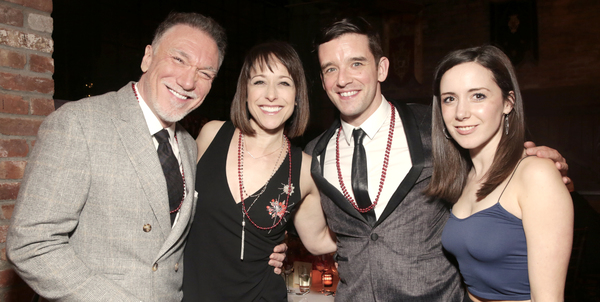 Patrick Page with wife Paige Davis join Michael Urie and Talene Monahon at the Tenth Annual RUNNING OF THE RED BULLS Benefit