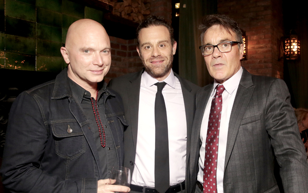 Michael Cerveris, Matthew Rauch and Derek Smith at the Tenth Annual RUNNING OF THE RED BULLS Benefit