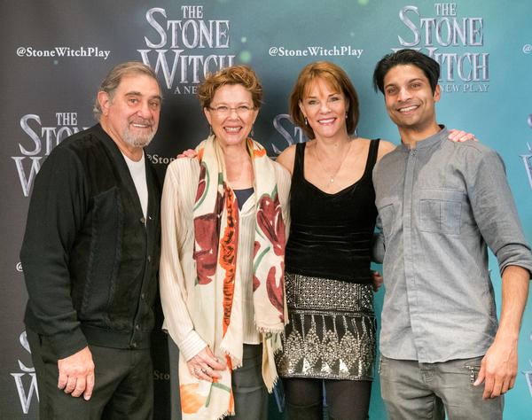Dan Lauria, Annette Bening, Carolyn McCormick and Rupak Ginn