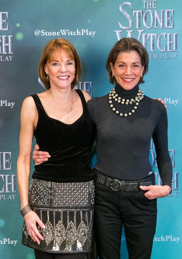 Carolyn McCormick and Wendie Malick