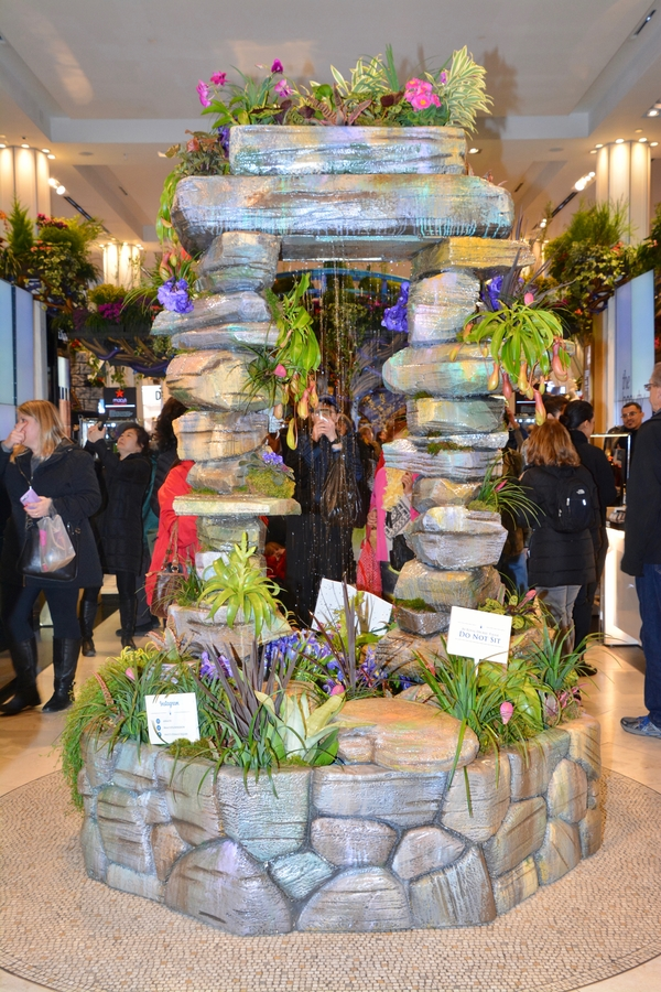 Photo Coverage: Macy's Herald Square Flower Show Presents: ONCE UPON on macy clothing, macy dishes, macy purses, macy furniture, macy curtains, macy shoes,