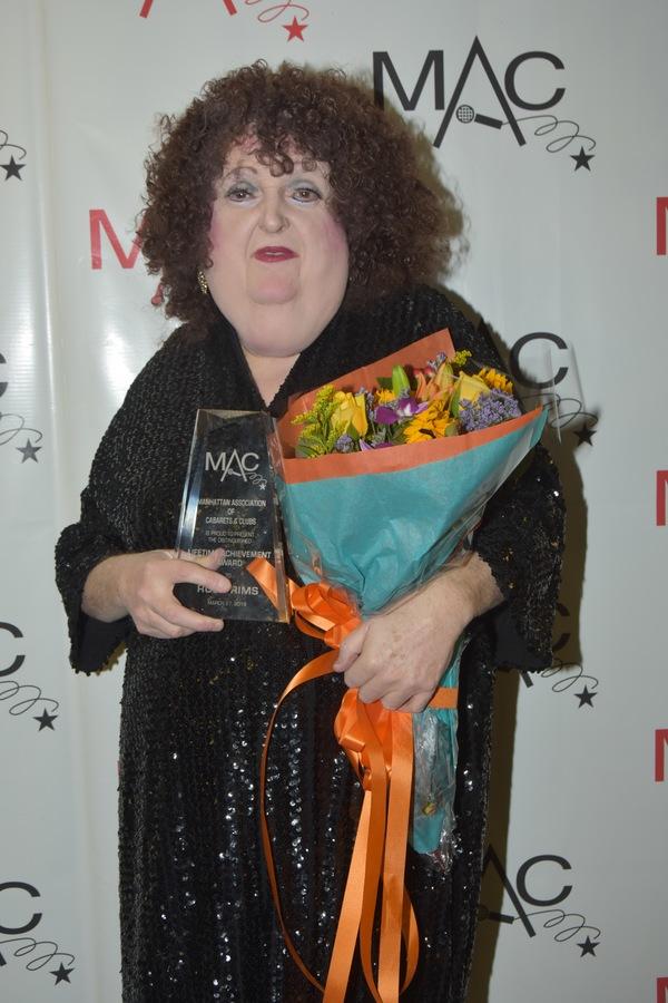 Lifetime Achievement Award-Ruby Rims